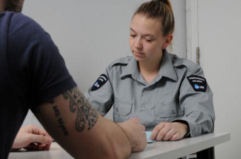 Rencontre détenu