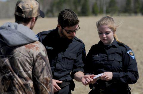 Vérification d'un permis de chasse